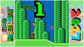 Gimmik Levels! (D) | Super Mario World Hack