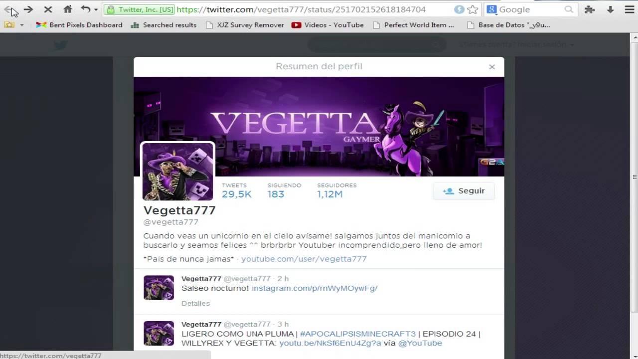 Vegetta777 twitter gay