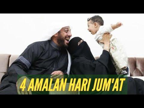 @syekhalijaber | 4 Amalan Hari Jum'at