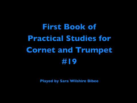 Getchell Hovey First Book of Practical Studies for Cornet or Trumpet #19