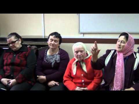 видео: Творческая встреча с народным коллективом из д. Камень