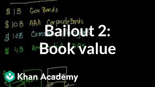 Bailout 2: Book value | Money, banking and central banks  | Finance & Capital Markets | Khan Academy