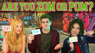 Are You Zom or Pom? We Play Disney Zombies Movie Inspired Characters Challenge. Totally TV