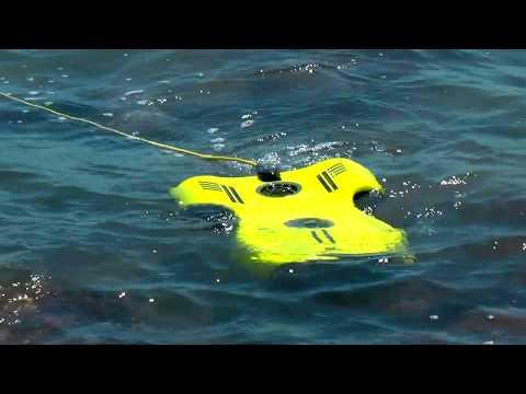 Aquarobotman Nemo goes to the Beach