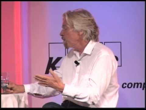Sir Richard Branson and Mike Ryan