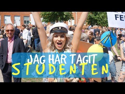 FÖR JAG HAR TAGIT STUDENTEN!!!!! Vlogg