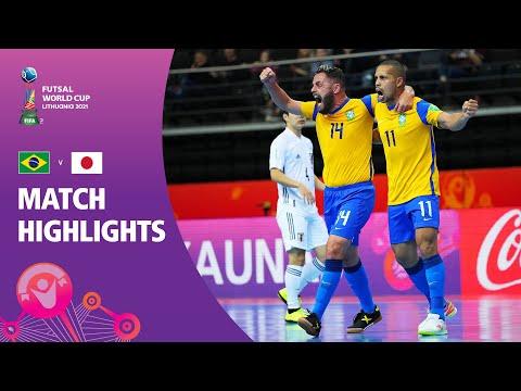 Brazil v Japan   FIFA Futsal World Cup 2021   Match Highlights