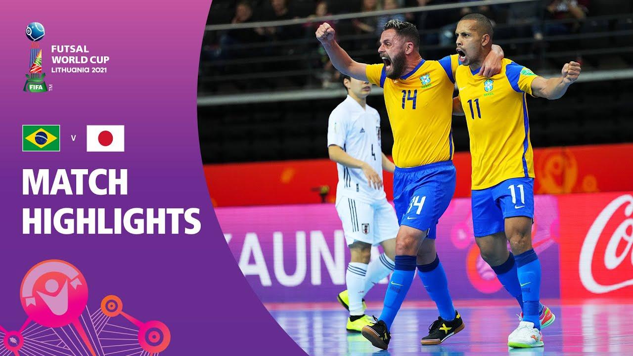 Download Brazil v Japan | FIFA Futsal World Cup 2021 | Match Highlights