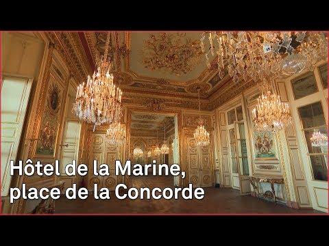 Hôtel de la Marine, place de la Concorde
