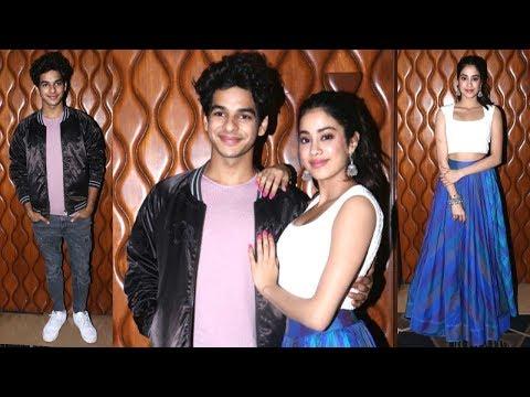 Jhanvi Kapoor & Ishaan Khattar's CUTE MOMENTS While Promoting Dhadak Movie | Bollywood News