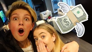 MORGZ SURPRISED ME WITH EXPENSIVE HOTEL ROOM!! ($10,000)