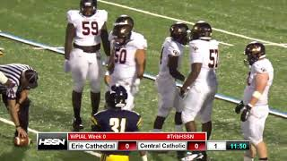 WPIAL Football - Erie Cathedral Prep vs Pittsburgh Central Catholic