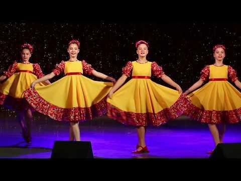 Русский народный танец «Барыня»