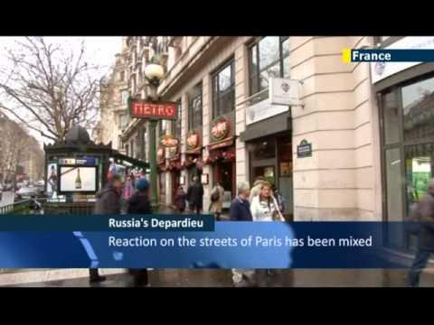 Gerard Depardieu becomes Russian: Putin grants supertax-dodging French actor citizenship