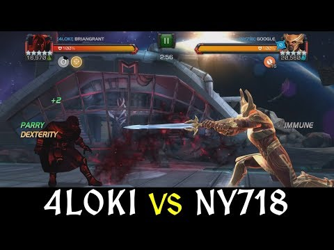 Alliance War: 4L0ki -vs- Ny718 | Season 7, War 6 | Marvel Contest of Champions
