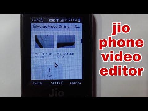 Jio Phone | online movie maker | edit your video using jio phone