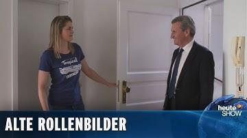 Die Quarantäne-WG (4): Günther Oettinger zu Gast bei Hazel & Fabian | heute-show vom 05.06.2020