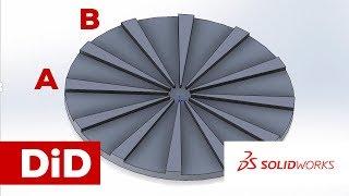 SW10. Solidworks: Parametryczne szablony do klejenia segmentowego drewna