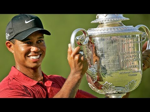 Tiger Woods' 4 Career PGA Championship Wins Highlight