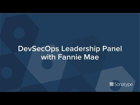 DevSecOps Leadership Panel with Fannie Mae