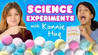 EASY SCIENCE EXPERIMENTS WITH KONNIE HUQ  Girl Talk