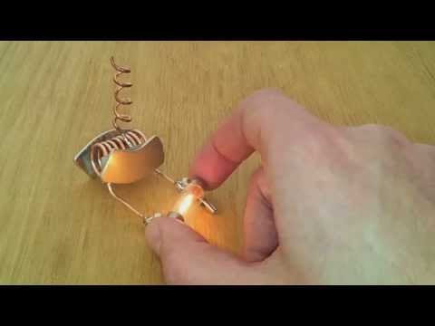 Free energy device tested on light bulb!!!