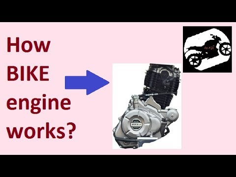 How Bike engine works?