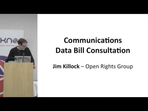 UKNOF25 - Communications Data Bill Consultation