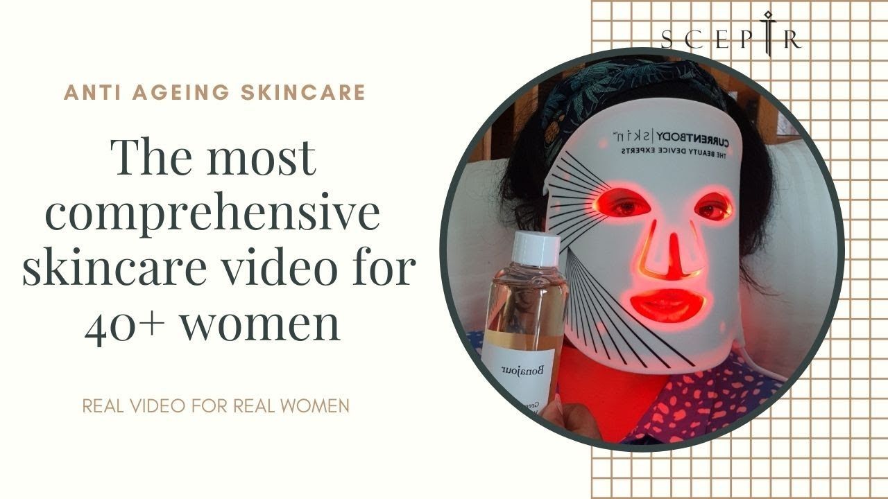 THE BEST ANTI AGEING DETAILED SKIN CARE VIDEO