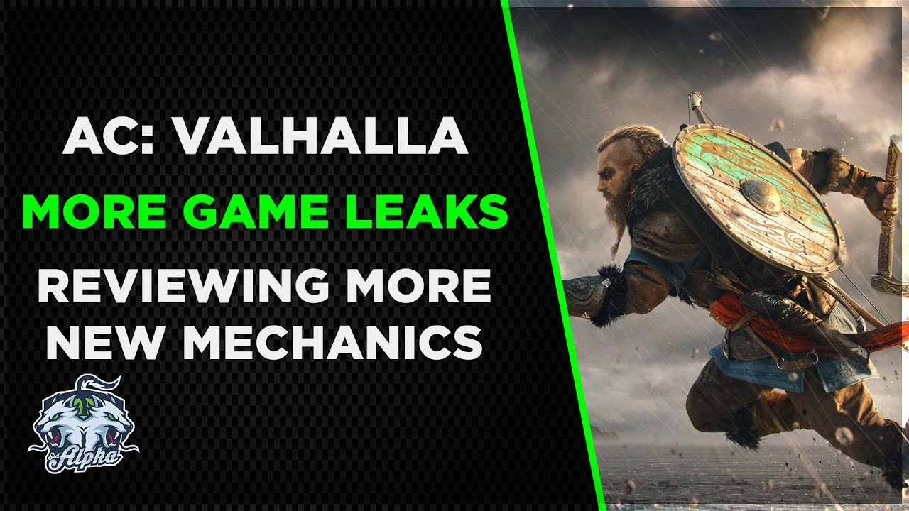 Reviewing The 7 Minutes Of Leaked Assassin S Creed Valhalla Boss Fight Gameplay Footage Youtube