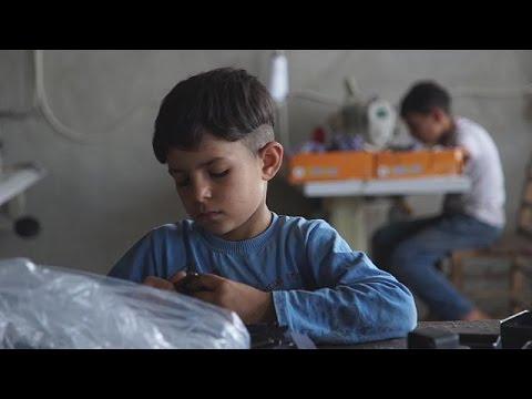 Syrian child labour in Turkey