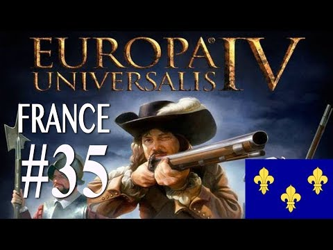 Europa Universalis 4 - France WC attempt campaign #35
