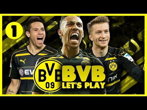 Borussia Dortmund Career Mode | New Beginnings | Football Manager 2017 Let's Play #1