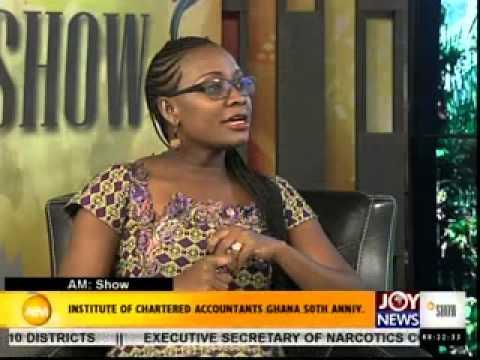 INSTITUTE OF CHARTERED ACCOUNTANTS GHANA 50TH ANNIV.-AM BIZ ON JOYNEWS (12-3-14)
