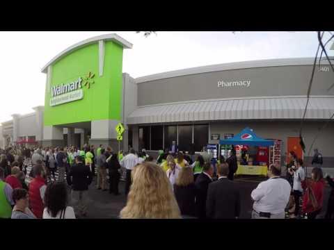 Walmart Neighborhood Market Grand Opening in Sarasota, FL