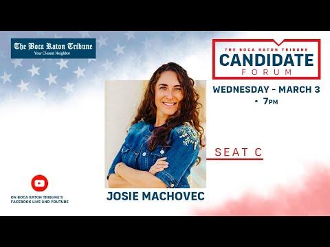 Election Interview 2021 - Josie Machovec