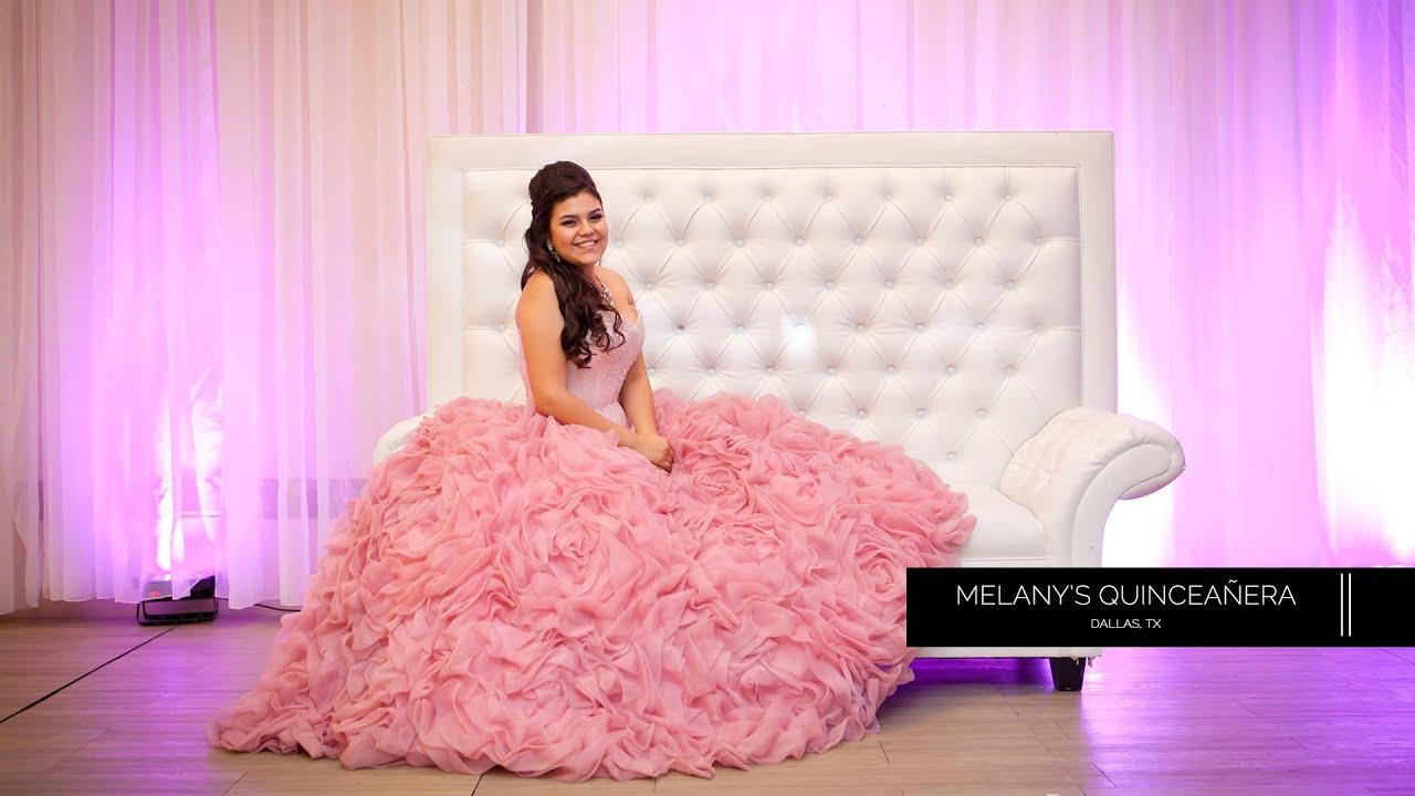 Melany's Quinceañera Highlight Video | Alarcon Studios - YouTube