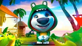 ИГРА МОЙ ГОВОРЯЩИЙ ХЭНК #11. ГОВОРЯЩИЙ ТОМ И АНДЖЕЛА - мультик игра видео для детей.