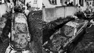 Mystery Of The Buried Ferrari Dino Solved -- JALOPNIK ON /DRIVE(Back in 1978, a 1974 Dino 246 GTS was found buried in a yard in Los Angeles. With the help of the Dino's current owner and one of the investigators on the ..., 2012-08-09T20:03:00.000Z)