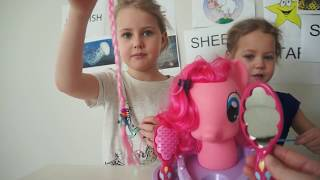 MY LITTLE PONY!!! HAIRSTYLING HEAD!!! СУПЕР ПРИЧЕСКИ ДЛЯ