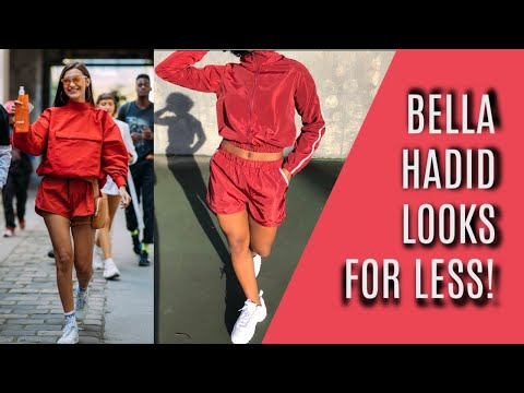 CELEBRITY STYLE STEAL  BELLA HADID'S LOOKS FOR LESS!!