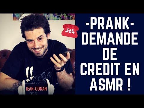PRANK - J'APPELLE UNE BANQUE POUR UN CREDIT EN ASMR [LABO ASMR] - JEAN-CONAN