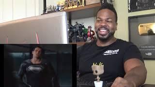 """JUSTICE LEAGUE SNYDER CUT """"Black suit Superman"""" Clip Trailer (2021) - Reaction!"""