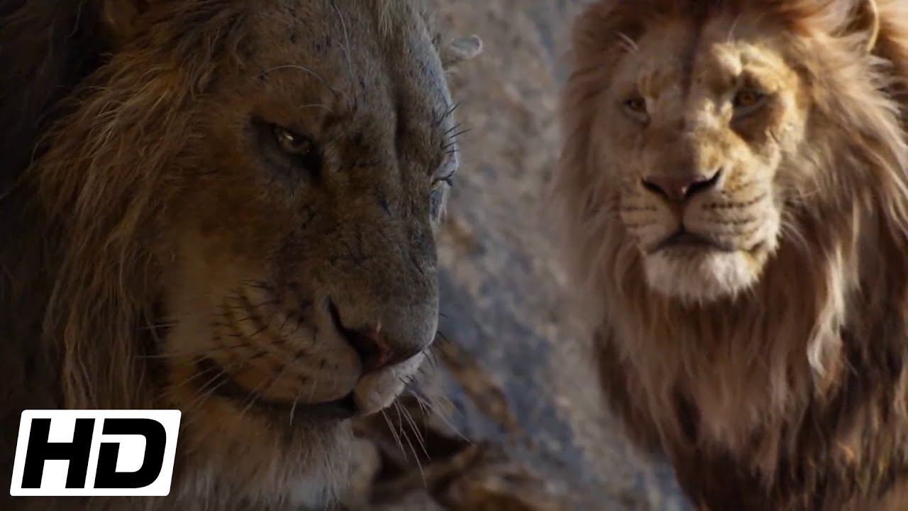 The Lion King 2019 Hd Scar Challenges Mufasa Youtube