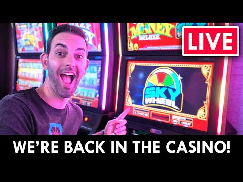🔴 LIVE At Coeur D'Alene Casino 🎰 BACK For More Games With Brian Christopher Slots
