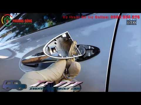 Cách mở cửa xe ô tô bằng chìa khóa phụ trên chìa khóa Smartkey nố máy
