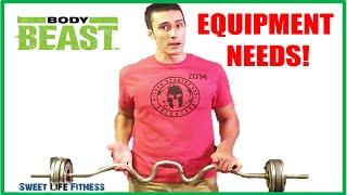 Body Beast Equipment - You Do Not Need that Much!