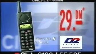 ProSieben Club Sony Ericsson Handy Werbung mit Arabella Kiesbauer (1999)