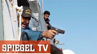 Flucht übers Mittelmeer: Unterwegs mit libyschen Sicherheitskräften