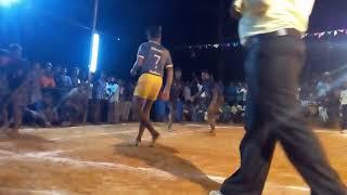 Kabbadi match best defence team.. Jump video